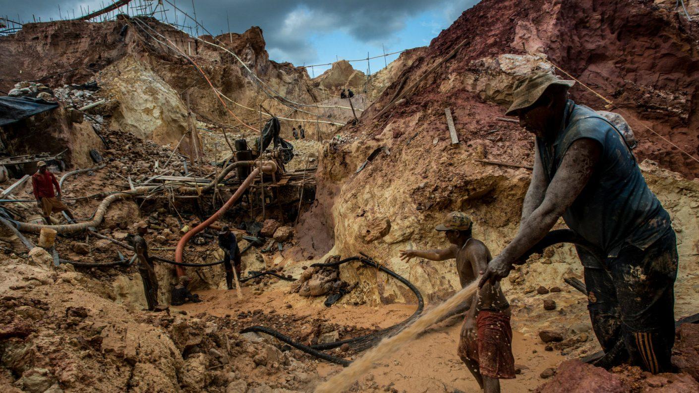 Más de 100 mil kilómetros cuadrados afectados por minería ilegal