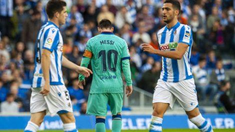 El Barcelona no pasó del empate ante la Real Sociedad