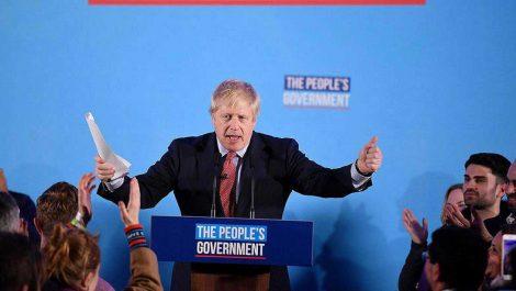 Boris Johnson consigue una aplastante victoria en las elecciones del Reino Unido
