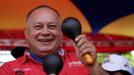 Cabello convocó al chavismo a «la mamá de las marchas» el 10-M