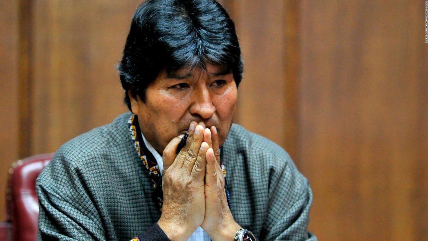Fiscalía boliviana emite orden de arresto a Evo Morales