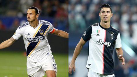 Zlatan: El verdadero Ronaldo es el brasileño