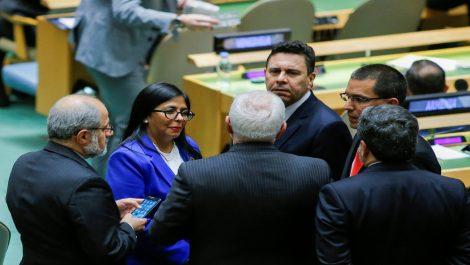 ONU acredita a los representantes de Maduro