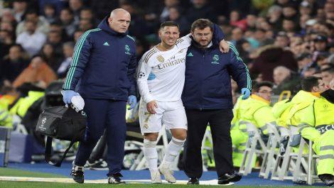 Eden Hazard se perderá el clásico español por lesión