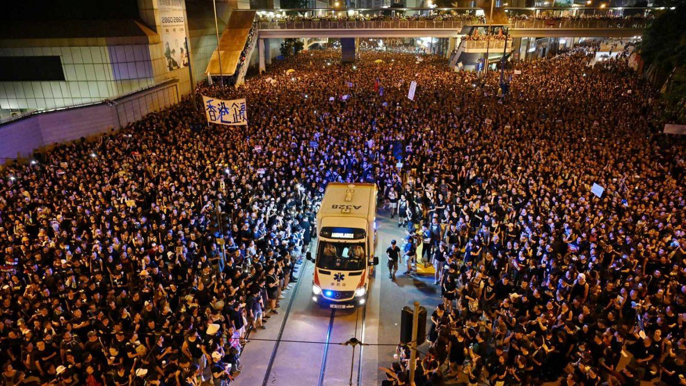 Tribunal de Hong Kong declaró que ley antimáscaras es inconstitucional