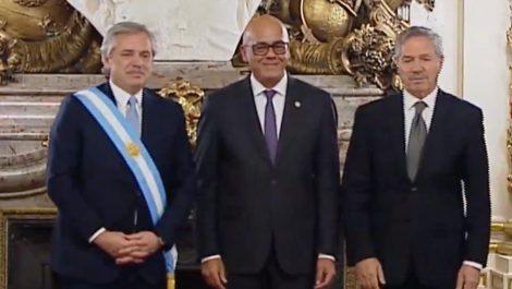 Representantes de EEUU se retiraron de toma de posesión en rechazo a Jorge Rodríguez