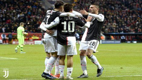 Juventus derrotó al Leverkusen con festejos de Cristiano e Higuaín