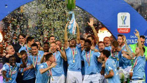 La Lazio sorprendió a la Juventus en la Supercopa de Italia