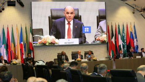 Venezuela entregó presidencia pro tempore de OPEP a Argelia