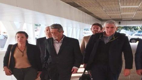 Presidente de Italia dio la bienvenida a los diputados Mariela Magallanes y Américo De Grazia