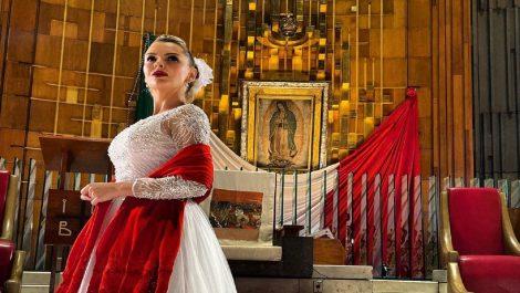 Marjorie de Sousa sorprende al cantarle a la Virgen de Guadalupe en su día