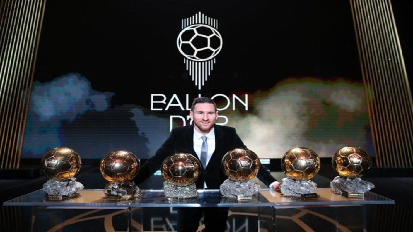 Messi alza su sexto balón de oro y hace historia