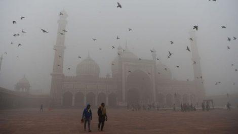 Nueva Delhi, capital de India, tiene el aire más tóxico de la Tierra