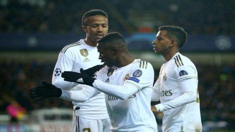 Real Madrid  no se complicó ante el Brujas