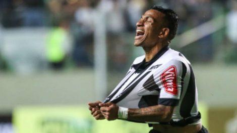 Rómulo Otero festejó su tercer gol con Atlético Mineiro