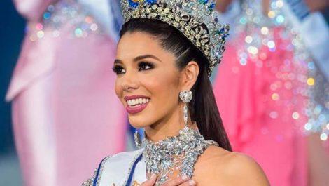 Thalía Olvino mostró el traje típico que usará en el Miss Universo (+fotos)