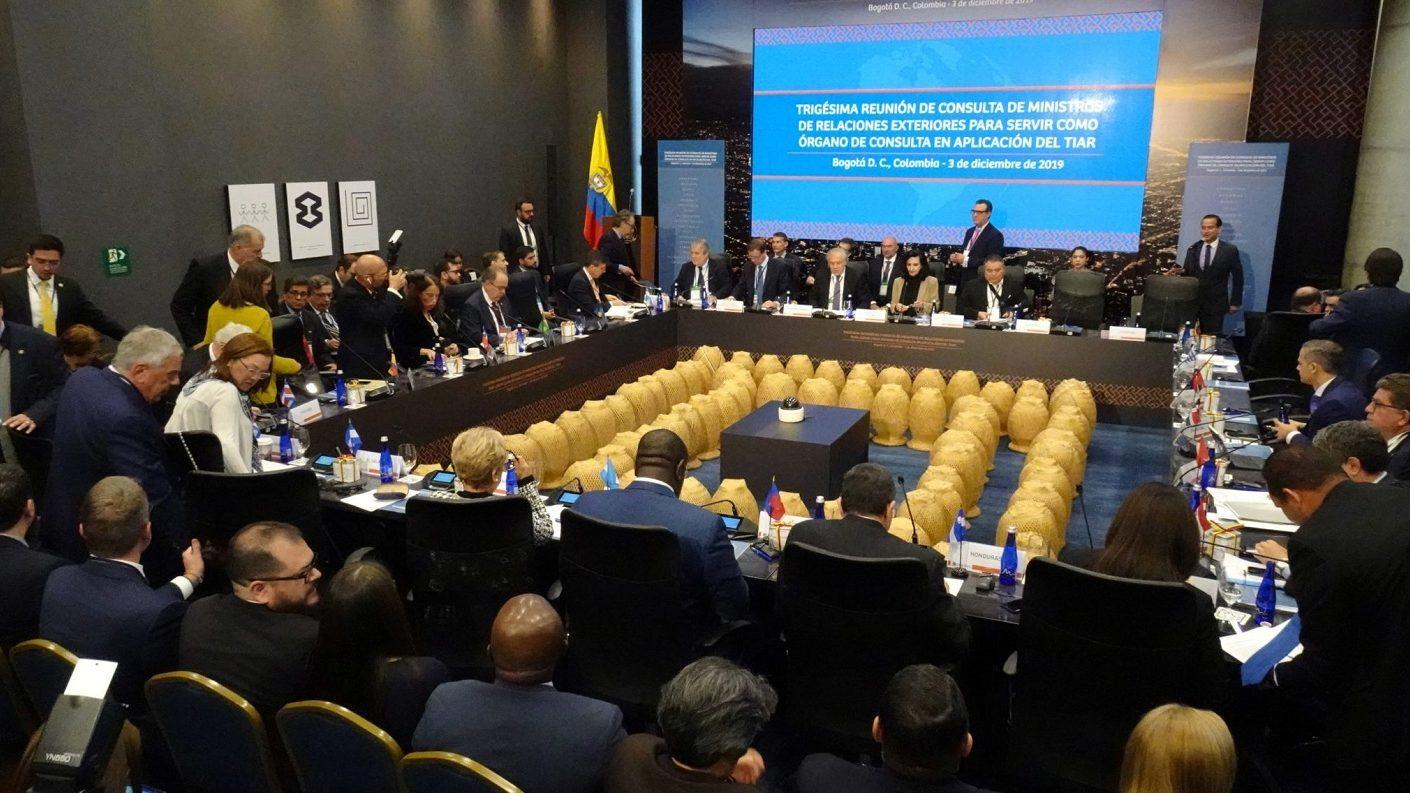 Países del TIAR acordaron en Bogotá sancionar al círculo de Maduro