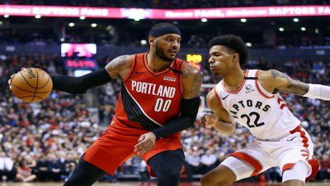 Trail Blazers cortó racha negativa al superar a los Raptors