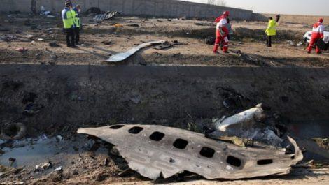 Irán enviará a Kiev las cajas negras del avión ucranio derribado en Teherán