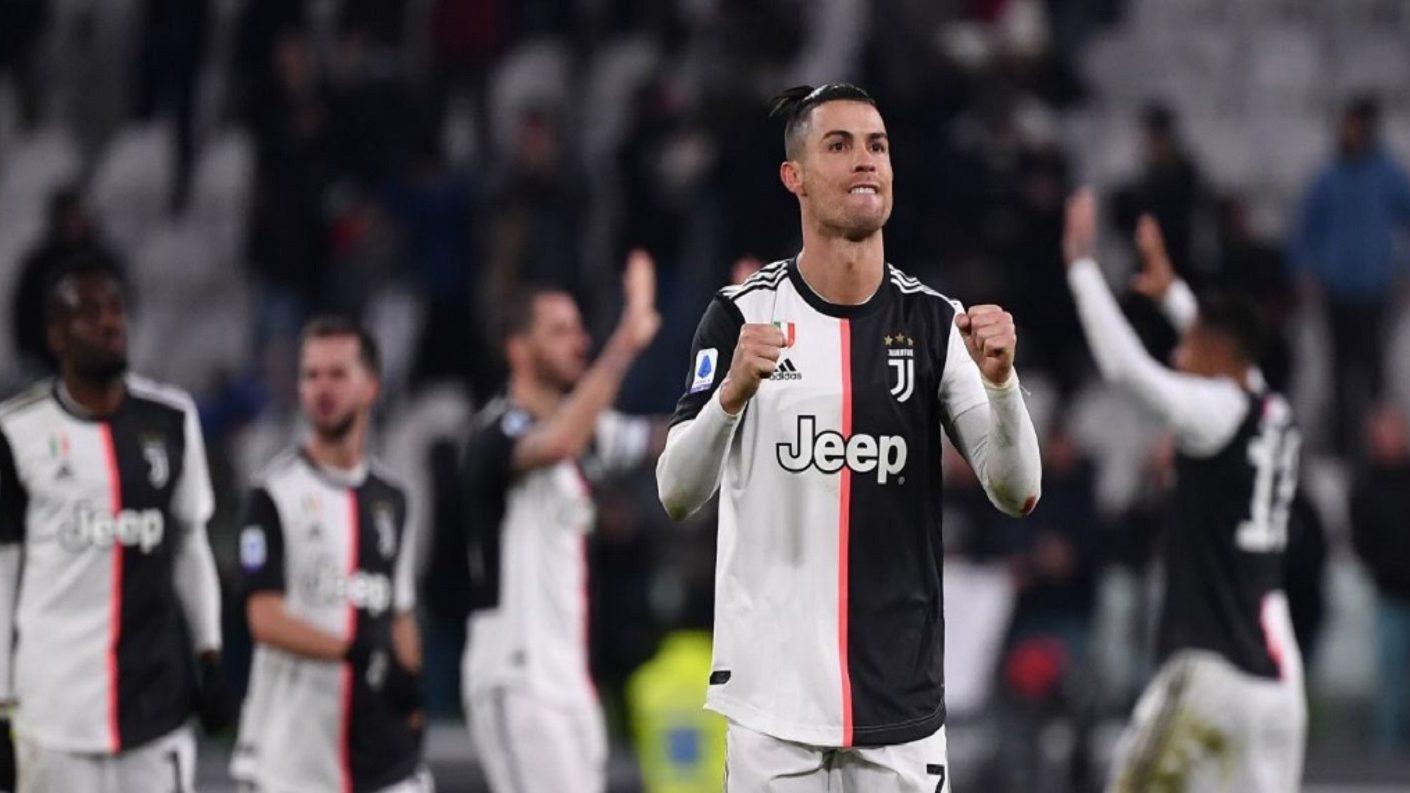 Con doblete de Cristiano Ronaldo la Juventus venció 2-1 al Parma