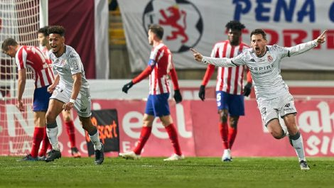 Atlético de Madrid le dice adiós a la Copa del Rey