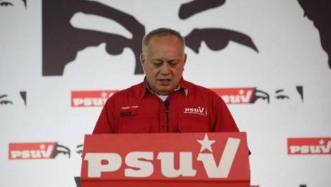 Diosdado Cabello confirmó que dio positivo para Covid-19