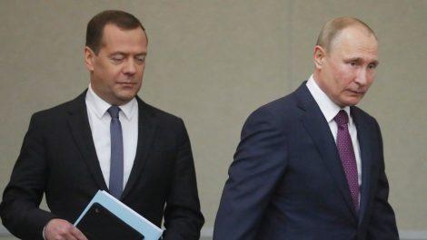 Gobierno ruso dimitió tras anuncios de Putin