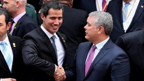 Iván Duque da la bienvenida a Guaidó tras informar que sostendrán reunión este domingo