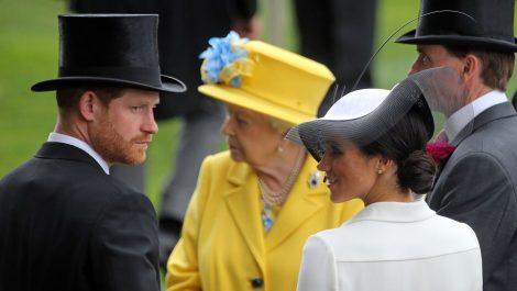 Harry y Meghan hicieron su última aparición como familia Real