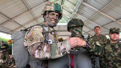 EEUU y Colombia llevaron a cabo ejercicios militares conjuntos