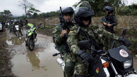 Cinco muertos durante enfrentamiento de grupos paramilitares en Colombia