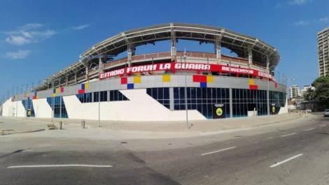 "Inaugurado estadio ""Fórum de La Guaira"""