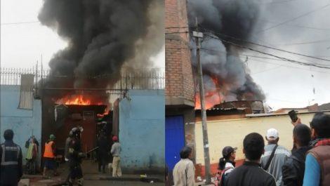 Trece fallecidos en una explosión de gas en Lima