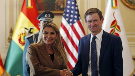Luego de más de una década EE.UU. enviará embajador a Bolivia