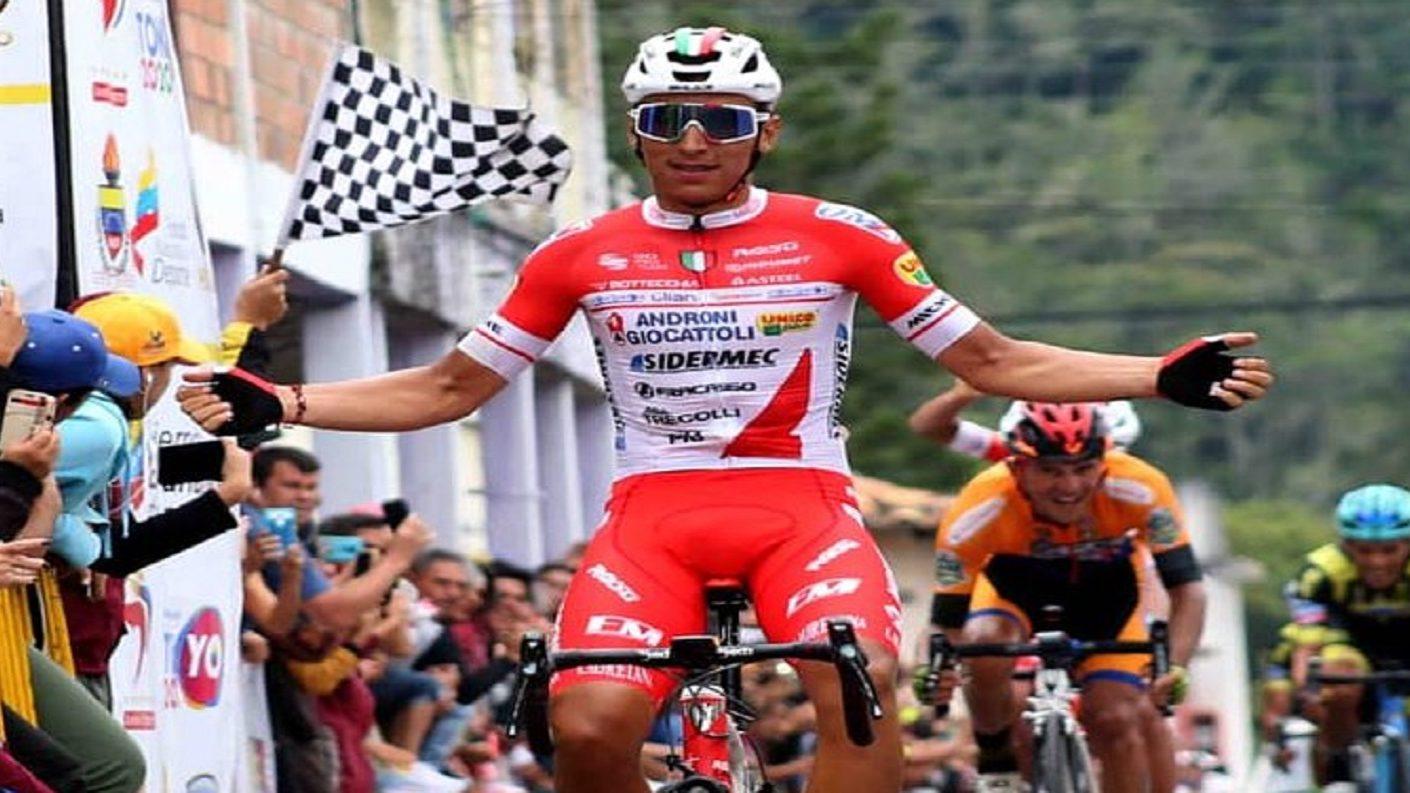 """Jhonatan Restrepo conquistó su segunda Etapa del """"Giro Andino"""""""