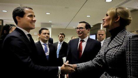 Ivanka Trump y Juan Guaidó sostuvieron reunión en Davos