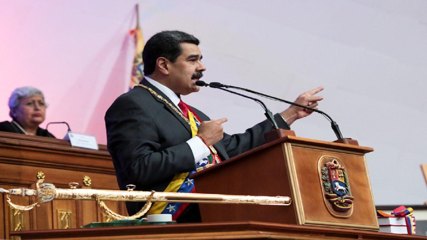 Maduro rindió memoria y cuenta ante la ANC: «El imperio ha intentado atarnos pero no pudieron»