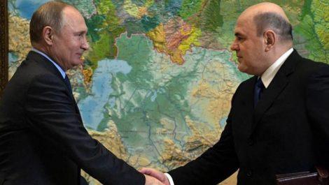 Putin designa a nuevo primer ministro tras dimisión de Médvedev