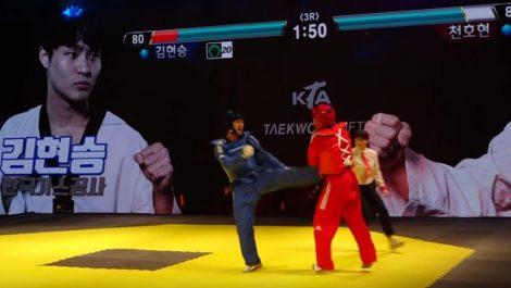 Proponen «ajustar» peleas reales de taekwondo como si fueran de Tekken