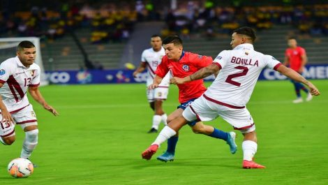 La Vinotinto no pudo ante Chile en el Preolímpico