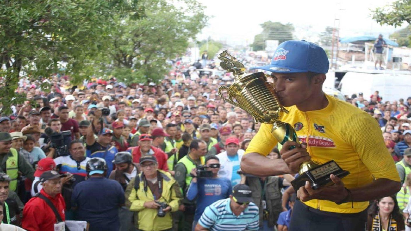 Roniel Campos campeón de la Vuelta al Táchira