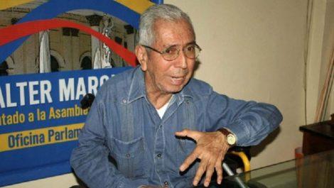 Walter Márquez denuncia detención del abogado que le ayuda en demandas contra Maduro
