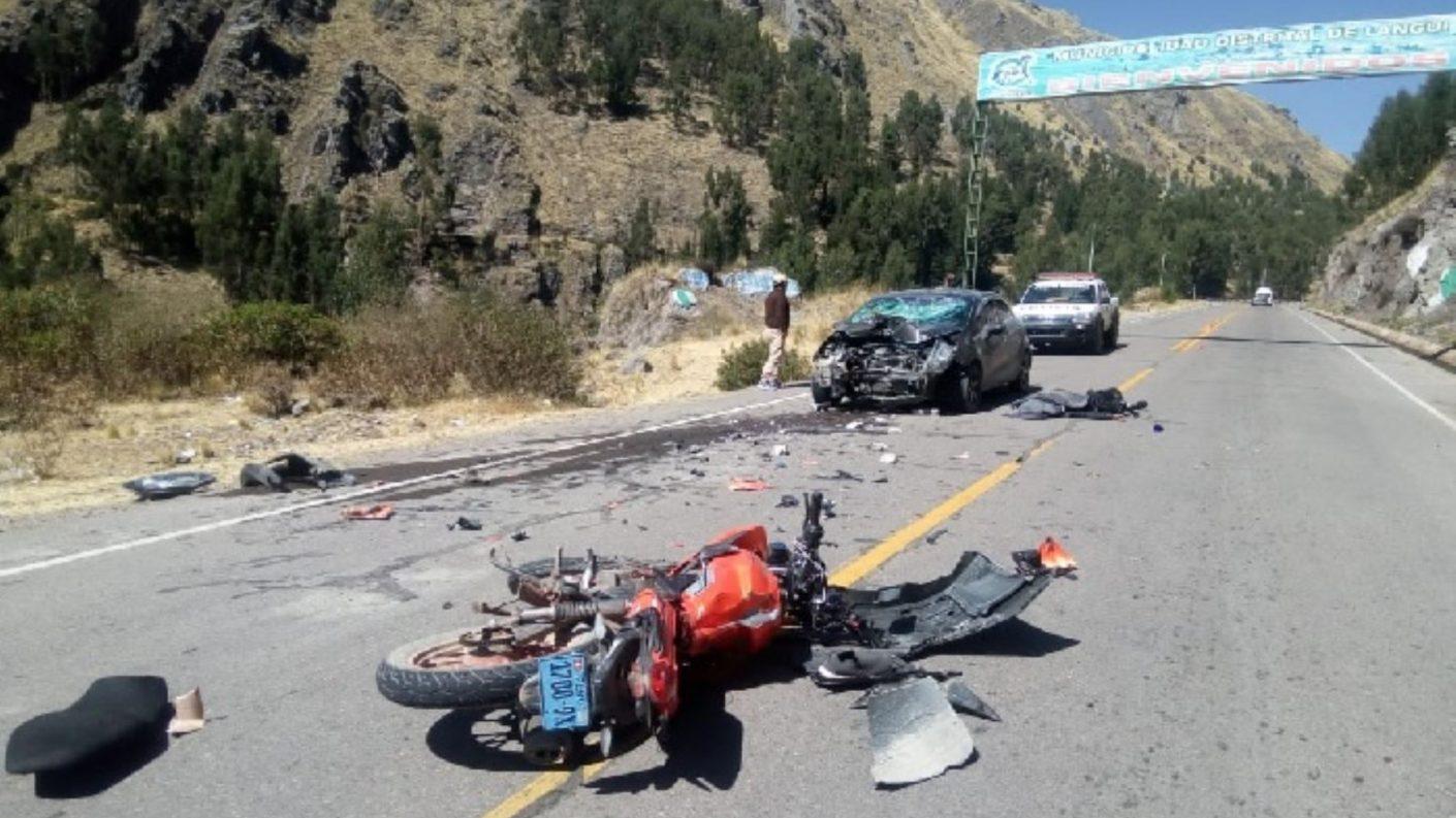 Venezolana en Perú murió al caer de cabeza de una moto