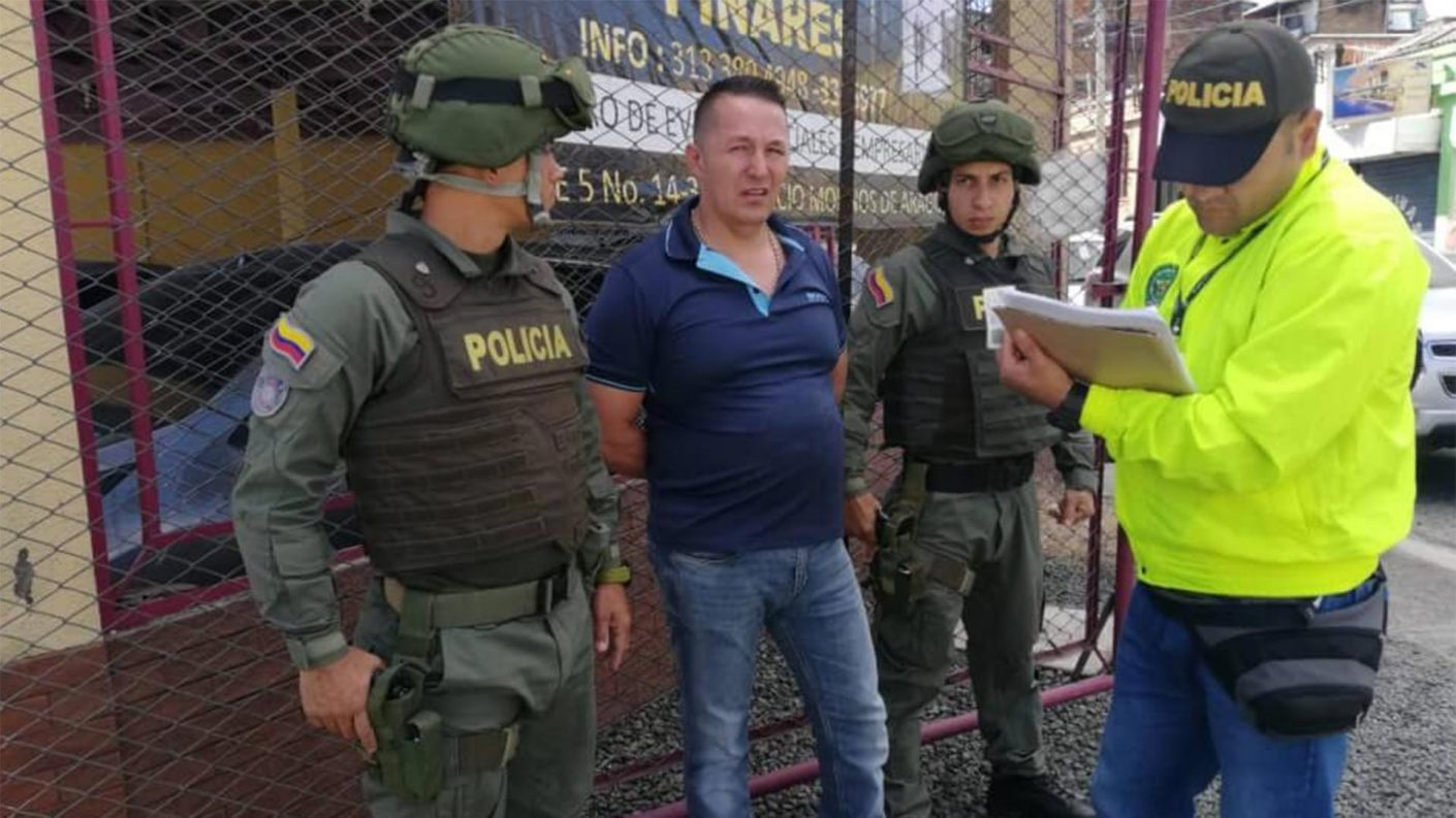 Capturan al mayor narcotraficante de heroína de Colombia