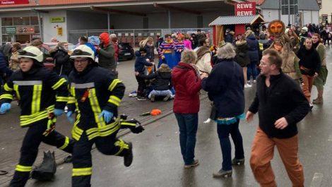 Múltiple atropello deja decenas de heridos en desfile de carnaval en Alemania