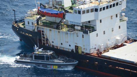 Encuentran mil kilos de cocaína en barco procedente de Falcón