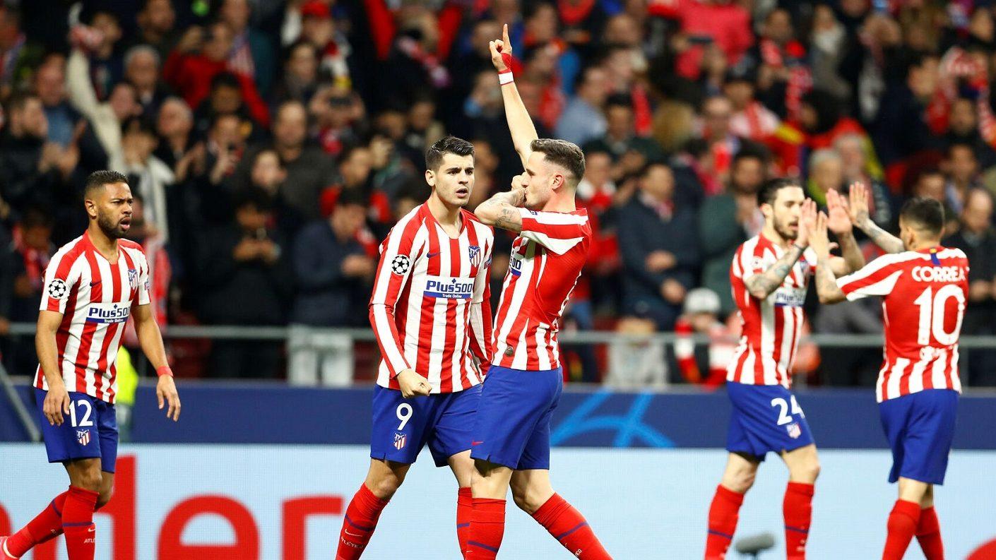 Atlético de Madrid derrotó al campeón
