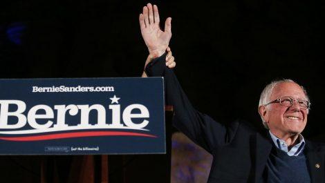 Bernie Sanders se alza como favorito en las primarias demócratas