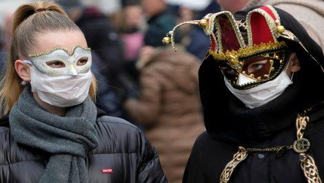 Fiestas de carnaval se cancelan en Venecia por coronavirus