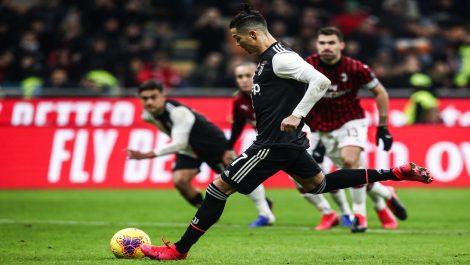 Juventus empató sobre el final ante el Milán